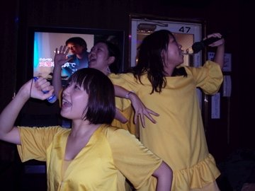 Japanese people love Karaoke