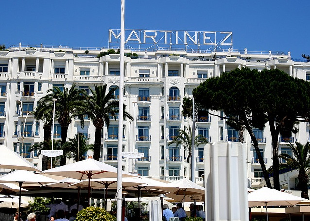 The exterior of the Hotel Martinez