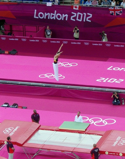 Trampolining London 2012