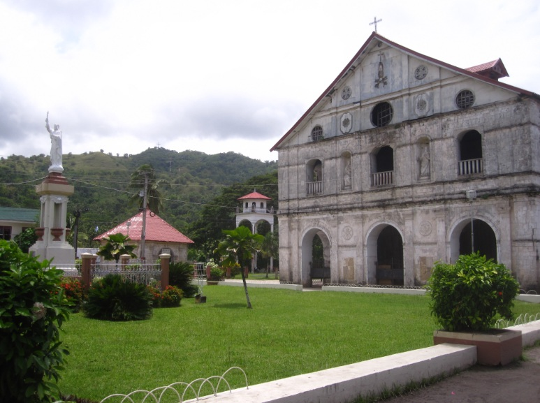 old spanish churches in Bohol, Philippines
