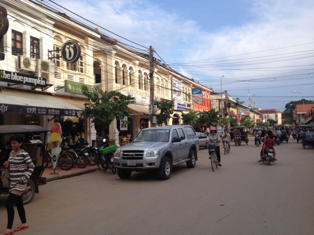 Colonial Buildings in Cambodia