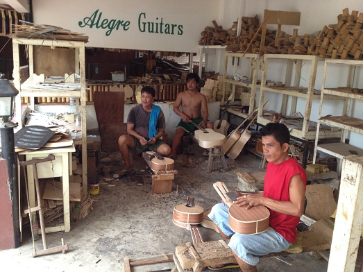 Alegre Guitar in Mactan