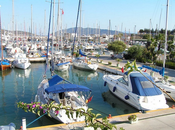 Marina in Turkey