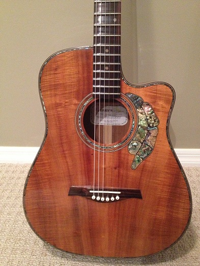 Koa Acoustic Guitar