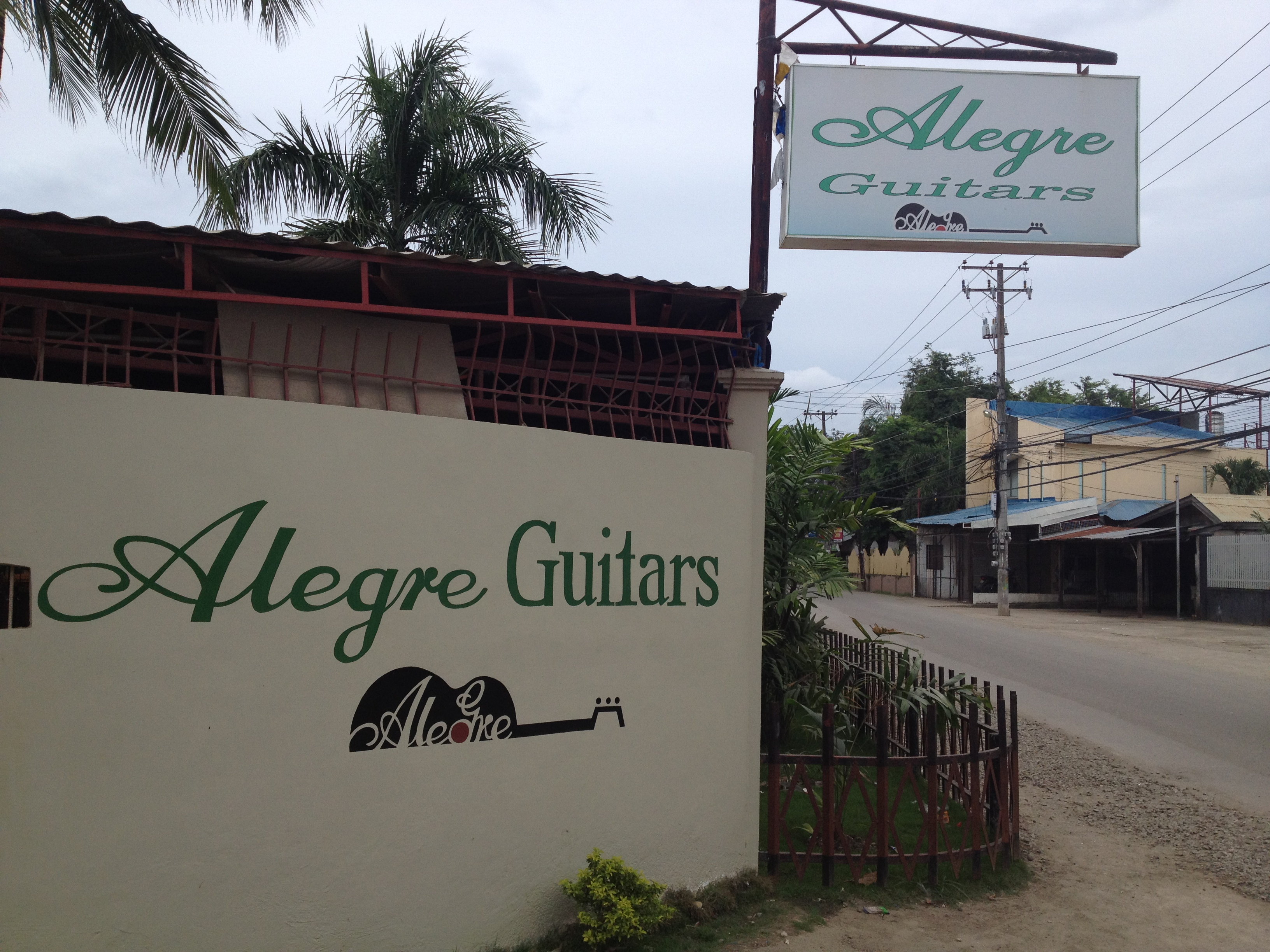 Guitar Store in Cebu, The Philippines