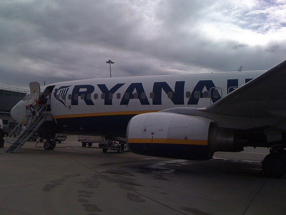 Ryan Air Plane