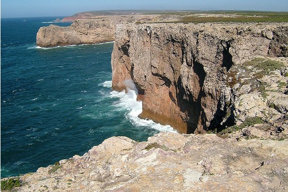 cliffs in Portugal