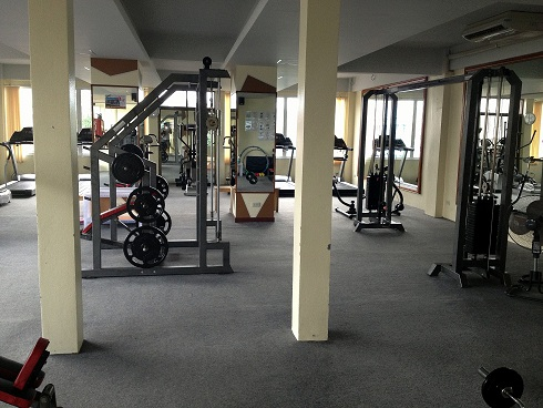 Fitness Center in Krabi Town, Thailand