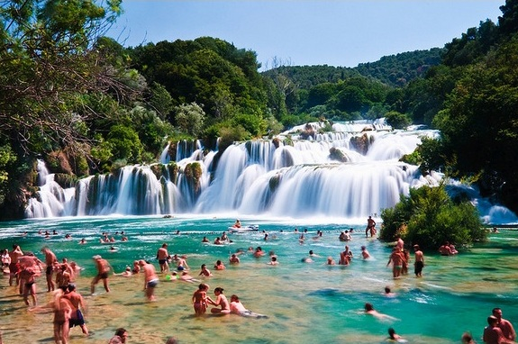 watefalls in Croatia