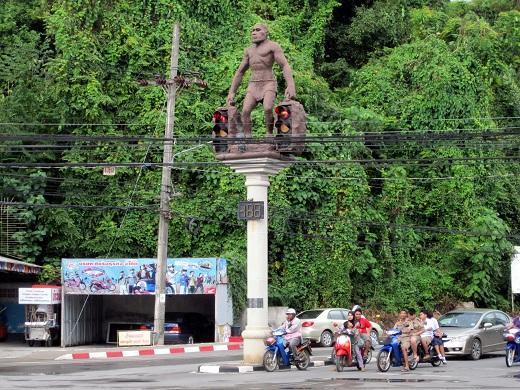Cave Men in Thailand