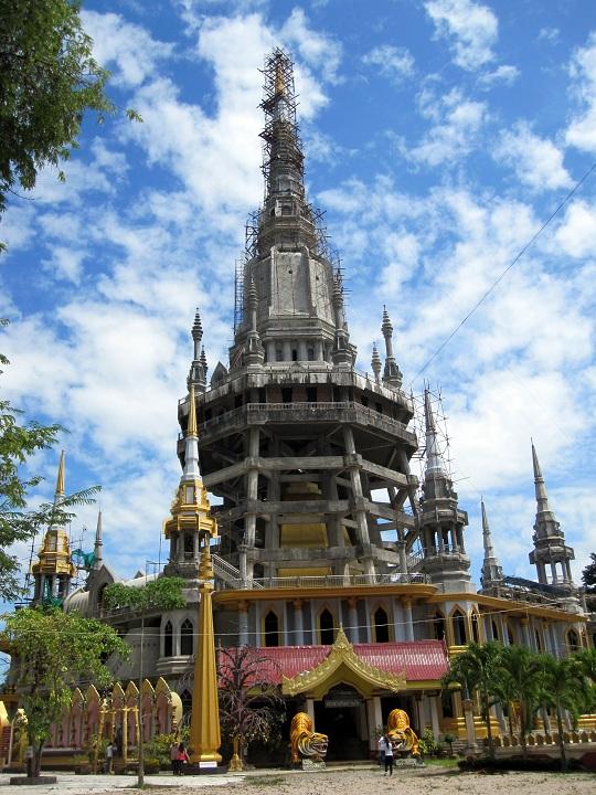 new temple in Krabi