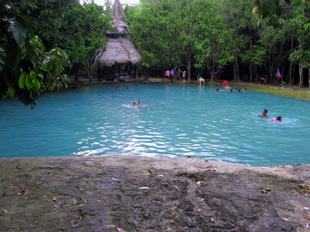 Crystal Pool in Krabi, Thailand