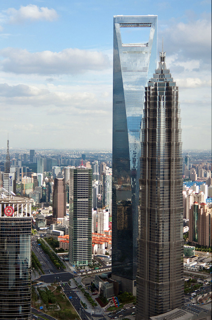 Skyscrapers in Shanghai