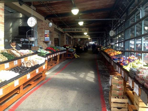 River Market neighborhood in Kansas City