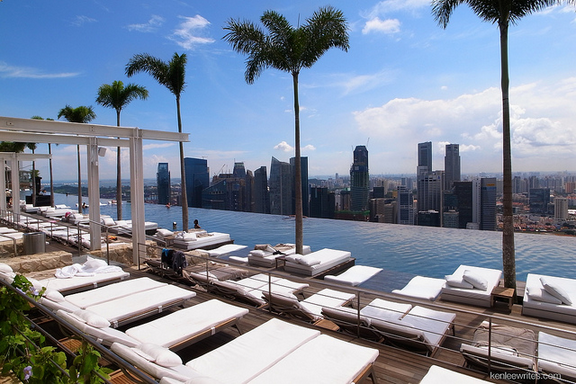 Marina bay sands pool in singapore top spot travel - Marina bay singapore pool ...