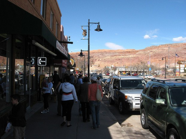 Moab city center