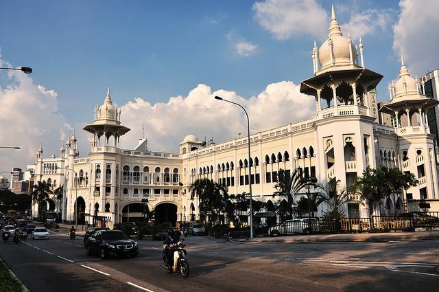 old station in Kuala Lumpor, Malaysia