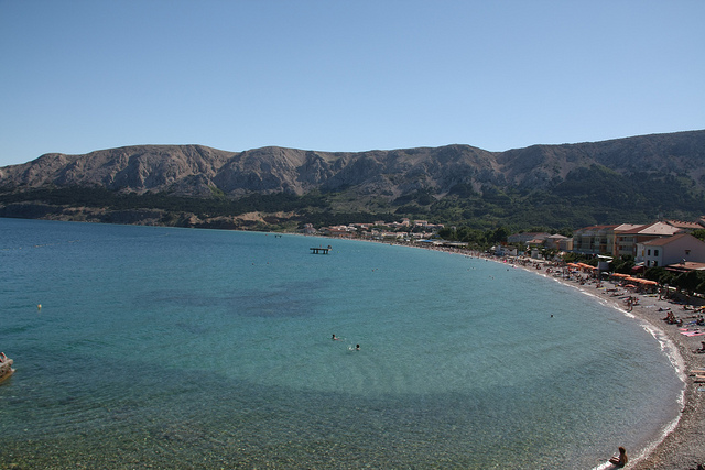 coastline in Croatia