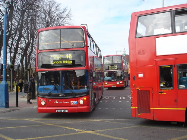 Buses in England