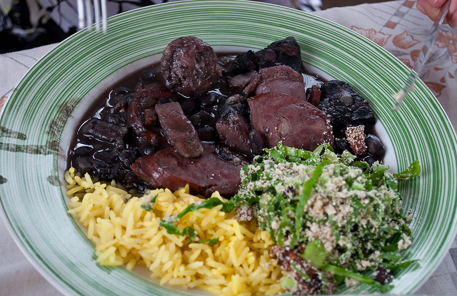 Feijoada with rice