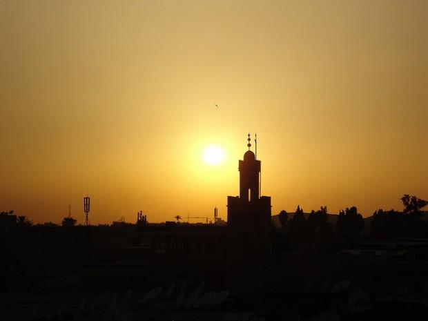 scene in Morocco