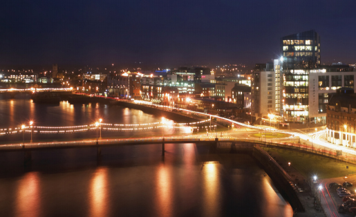 riverfront of Limerick