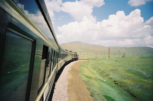 train in Russia