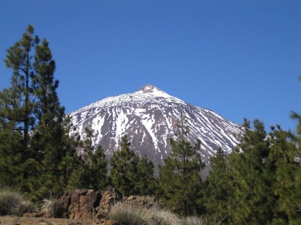 Mount Tiede volcano, Tenerife