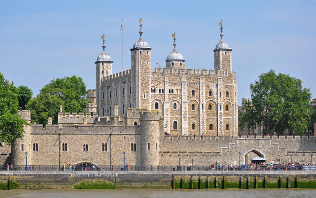 The Towers of London is just one of the top tourist attractions in London
