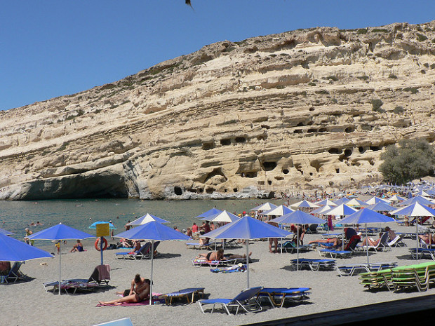 Bargain sun and sand destinations like this this beach in Crete deliver superior value for your travel dollar!