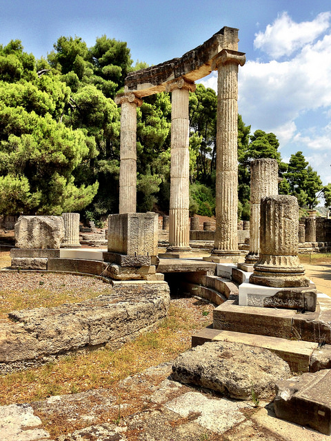 History lovers will love the ruins of Olympia ... after arriving there in a cruise ship!