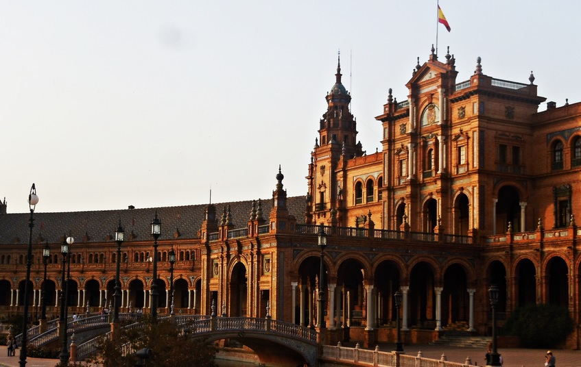 Of all the essential sights in Seville, don't miss Plaza de España!