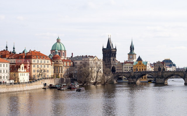 A weekend trip to Prague will reward you with views like this...
