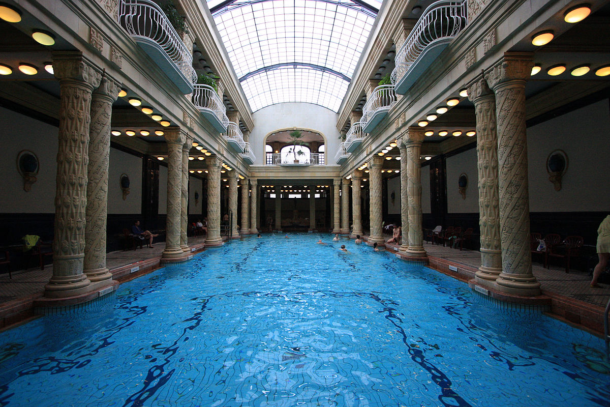 The Gellert Spa Baths are among the top Luxury Experiences in Budapest ... photo by CC user Roberto Ventre on Flickr